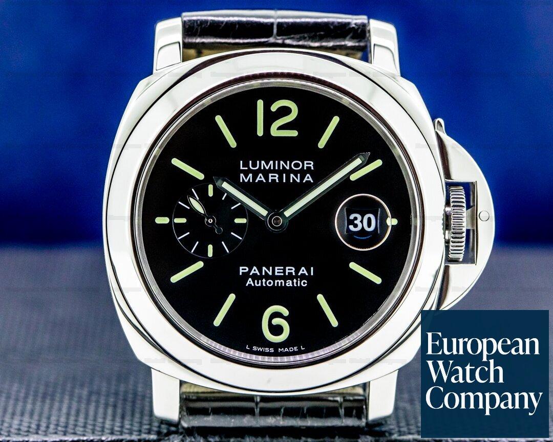 Panerai PAM104 Luminor Automatic SS Black Dial 44MM