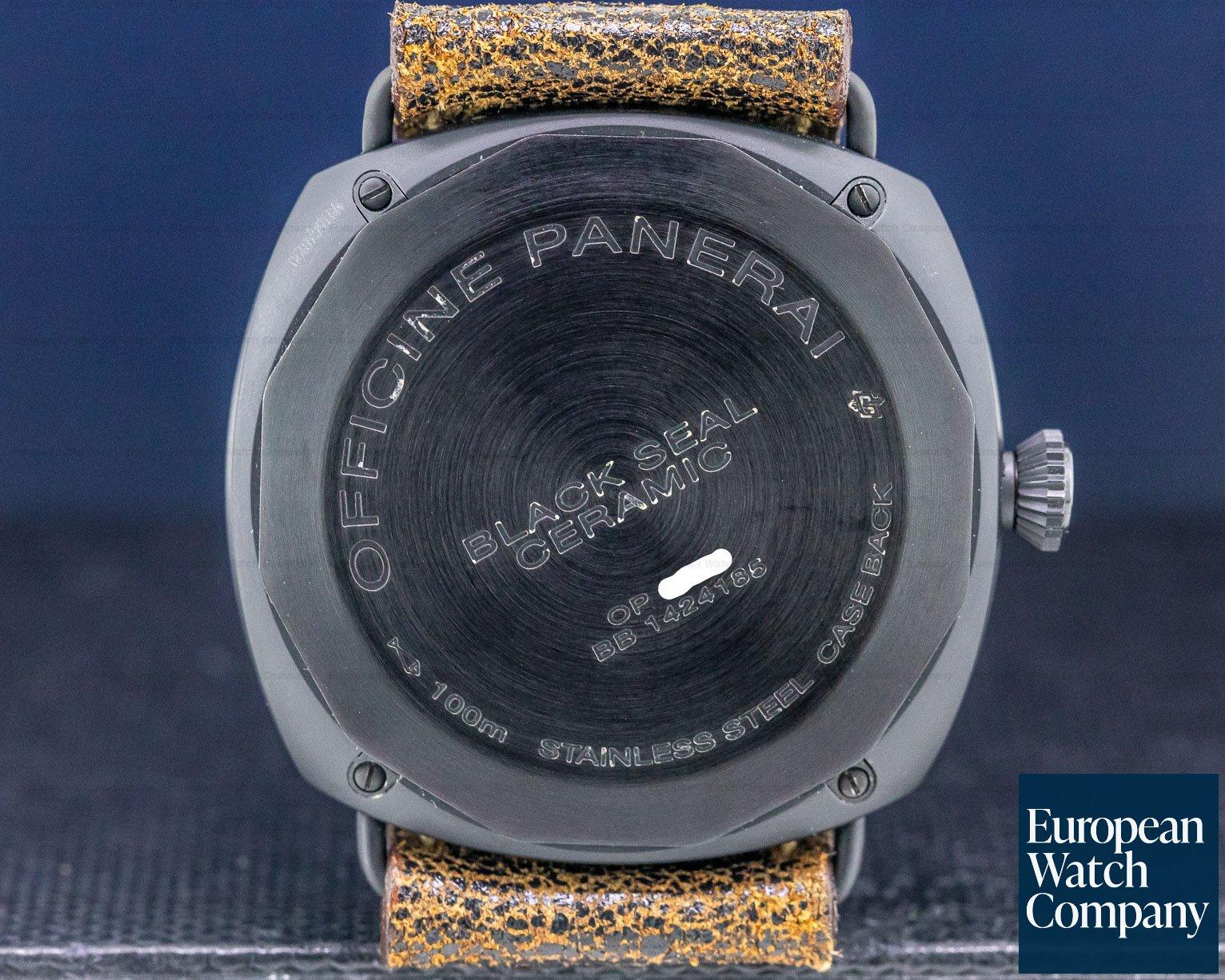 Panerai PAM292 Radiomir Black Seal Ceramic 45MM