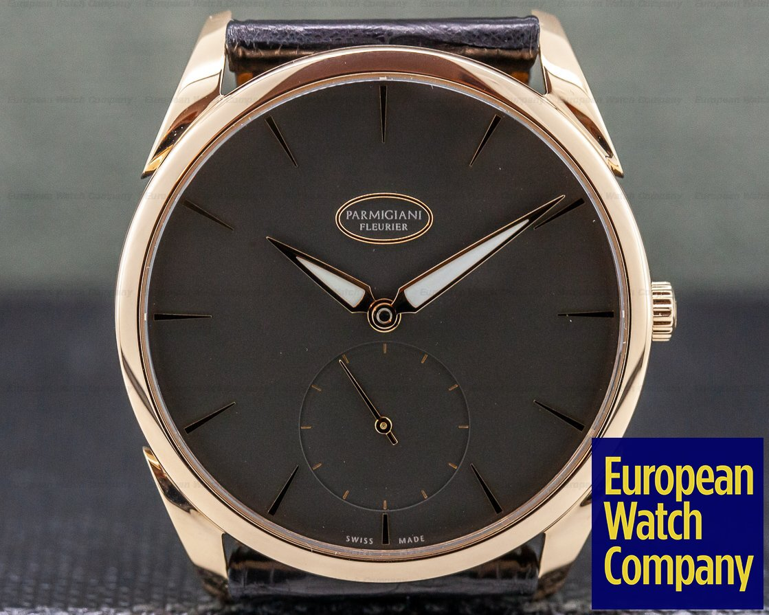 Parmigiani PFC267-1000300 Tonda 1950 18K Rose Gold Grey Dial 39MM