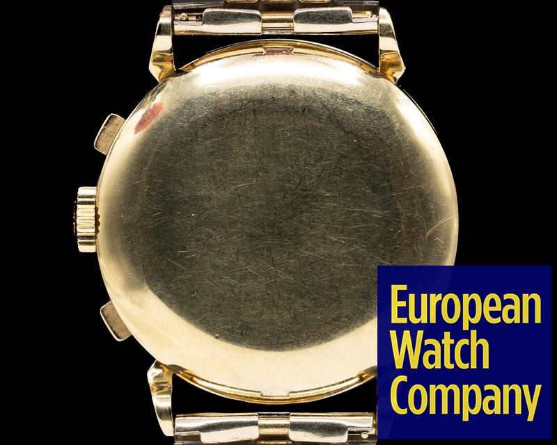Patek Philippe 1579 Vintage Chronograph 18K Yellow c. 1954 NICE