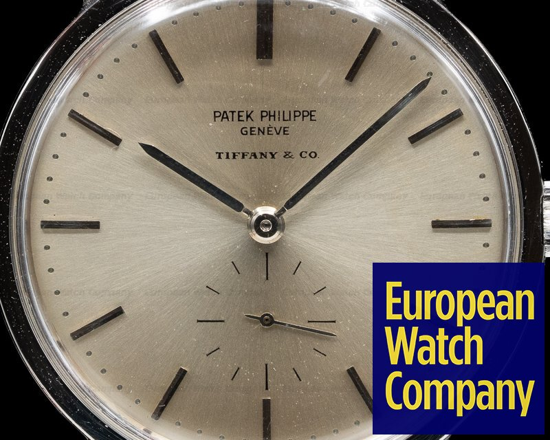 Patek Philippe 3466 Tiffany 3466 Steel Calatrava TIFFANY & CO. RARE