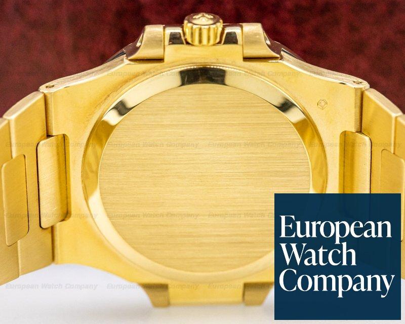 Patek Philippe 3800/1J-001 Nautilus Mid Size 18K Yellow Gold WOW