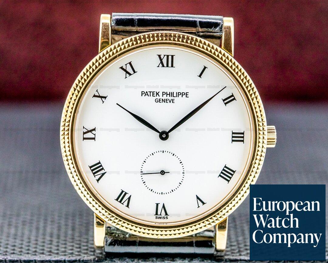 Patek Philippe 3919R Calatrava 18K Rose Gold