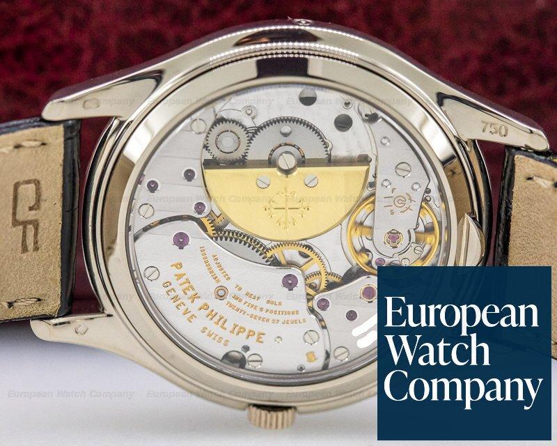 Patek Philippe 3940G-025 Perpetual Calendar White Dial Roman 18K White Gold RARE