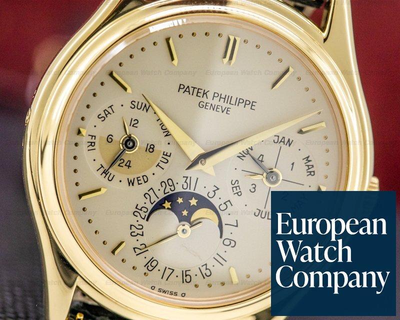 Patek Philippe 3940J-014 Perpetual Calendar 18K Yellow Gold JUST SERVICED