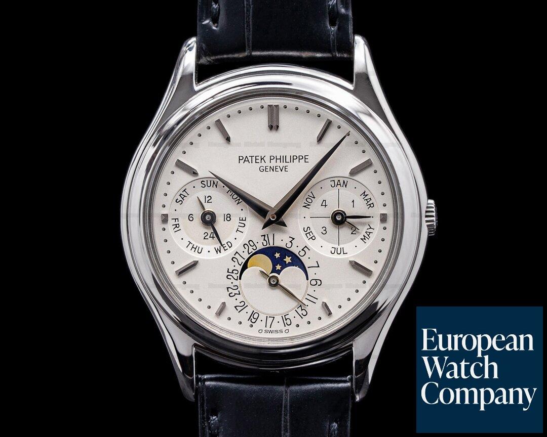 Patek Philippe Perpetual Calendar 3940P Platinum Ref. 3940P-011