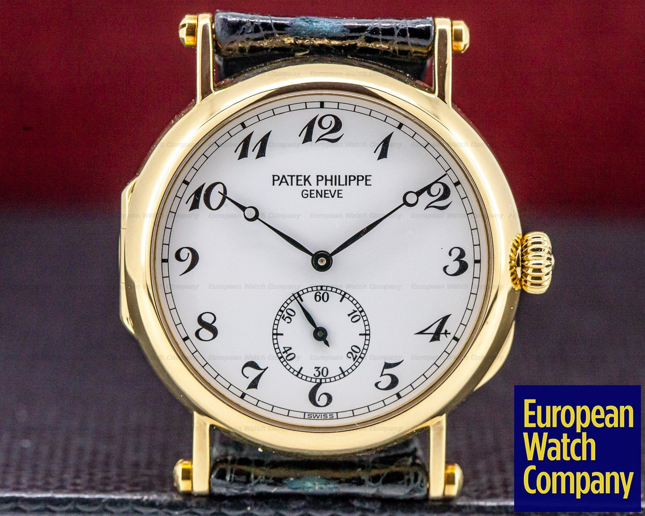 Patek Philippe 3960J Calatrava '150th Anniversary' 18K Yellow Gold