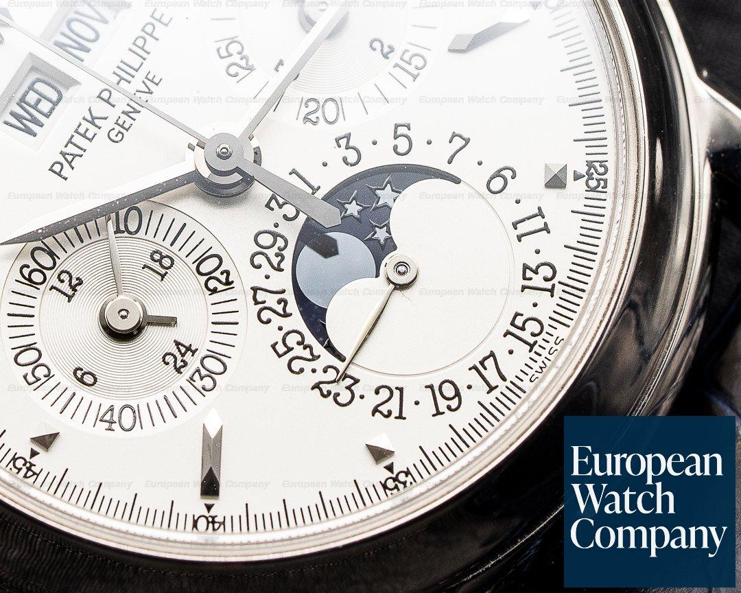 Patek Philippe 3970EG-016 Perpetual Calendar 3970G 18K White Gold JUST SERVICED