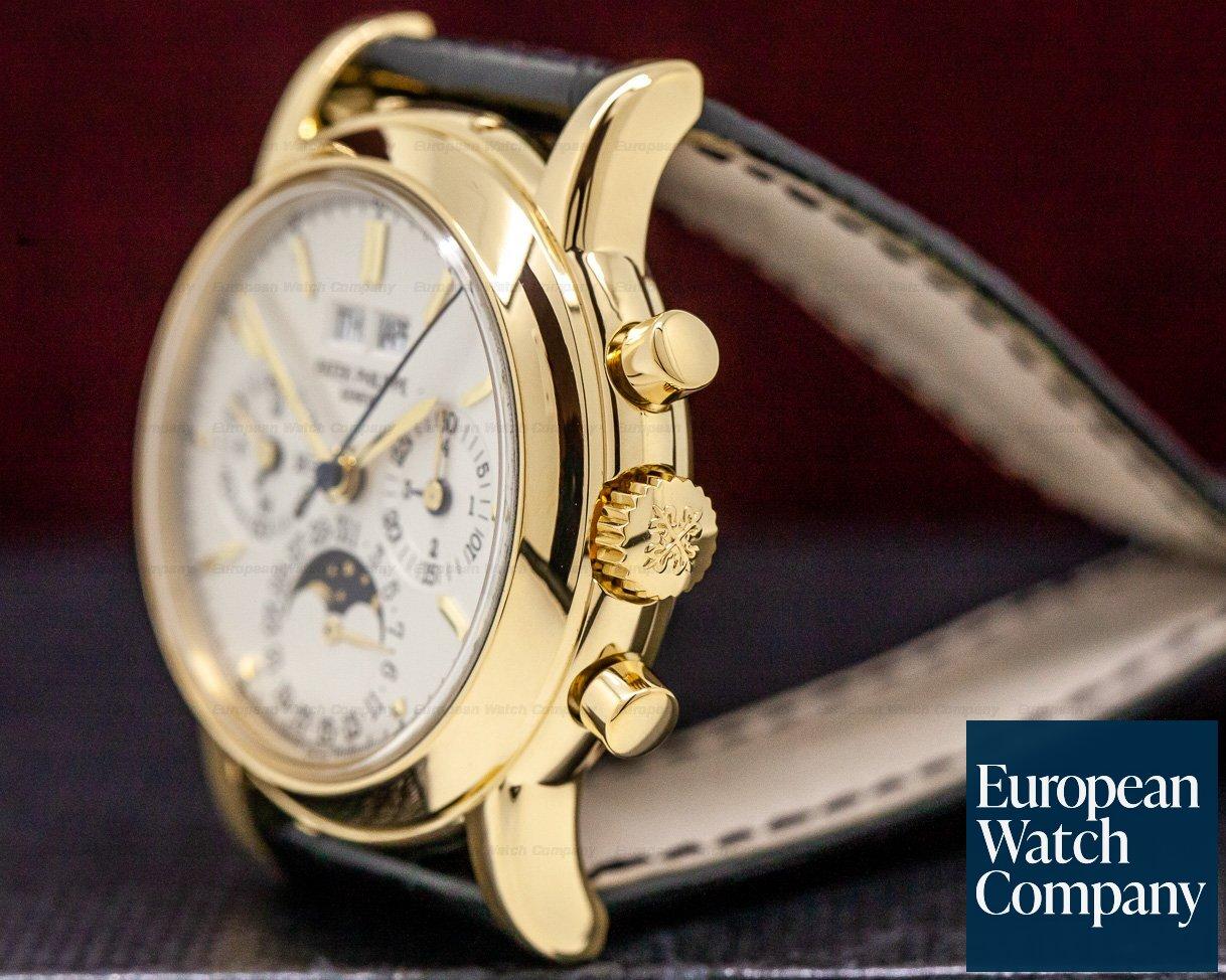 Patek Philippe 3970EJ-014 Perpetual Calendar Chronograph 18K Yellow Gold (3rd Series)
