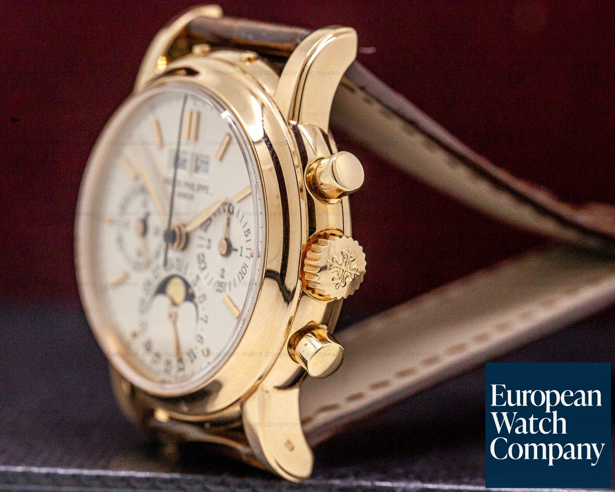 Patek Philippe 3970R Perpetual Calendar Chronograph 18K Rose Gold