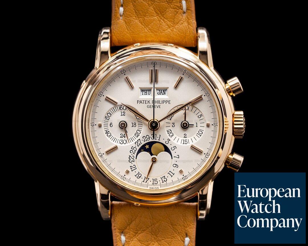 Patek Philippe 3970R Second Series  Perpetual Calendar Chronograph 3970R 2nd Series NICE FULL SET