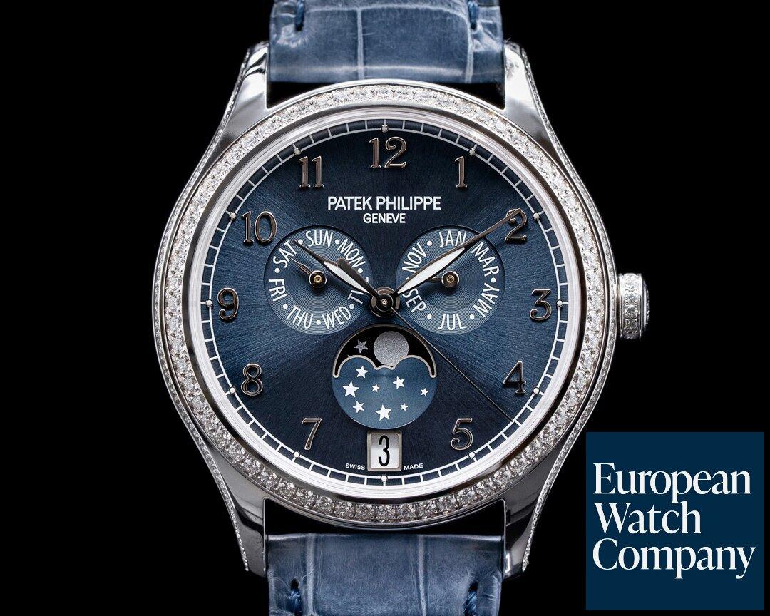 Patek Philippe Annual Calendar 4947G White Gold / Blue Dial 2021 Ref. 4947G-001
