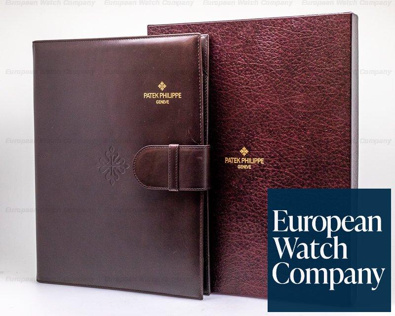 Patek Philippe 5004P-033 Perpetual Calendar Split 5004 Platinum DOUBLE SEALED