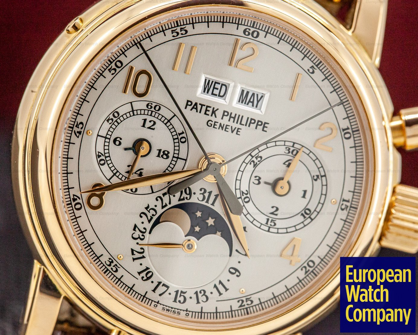 Patek Philippe 5004R-014 Perpetual Calendar Split Second Chronograph 5004 18K Rose Gold