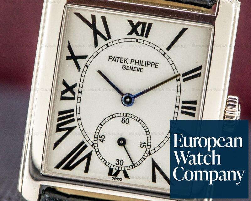 Patek Philippe 5014G-001 Gondolo 5014G Silver Dial Manual Wind Black Roman Numerals