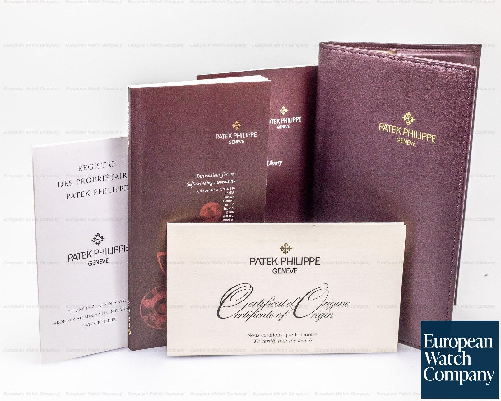 Patek Philippe 5015R Moonphase Power Reserve 18K Rose Gold Hobnail Bezel