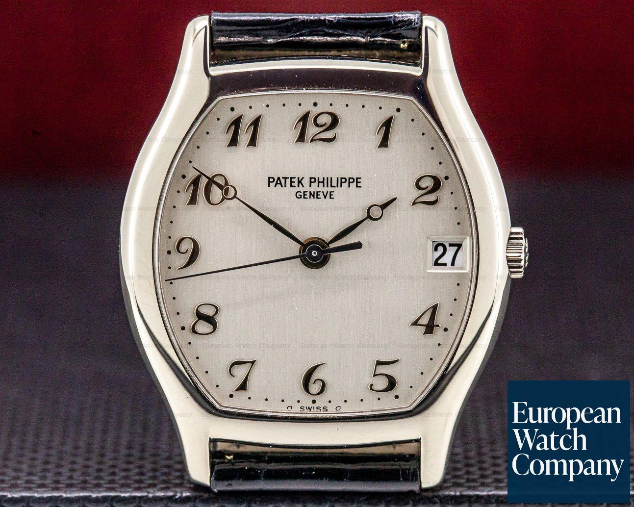 Patek Philippe 5030G-001 Gondolo Tonneau 18K White Gold / Breguet Numerals