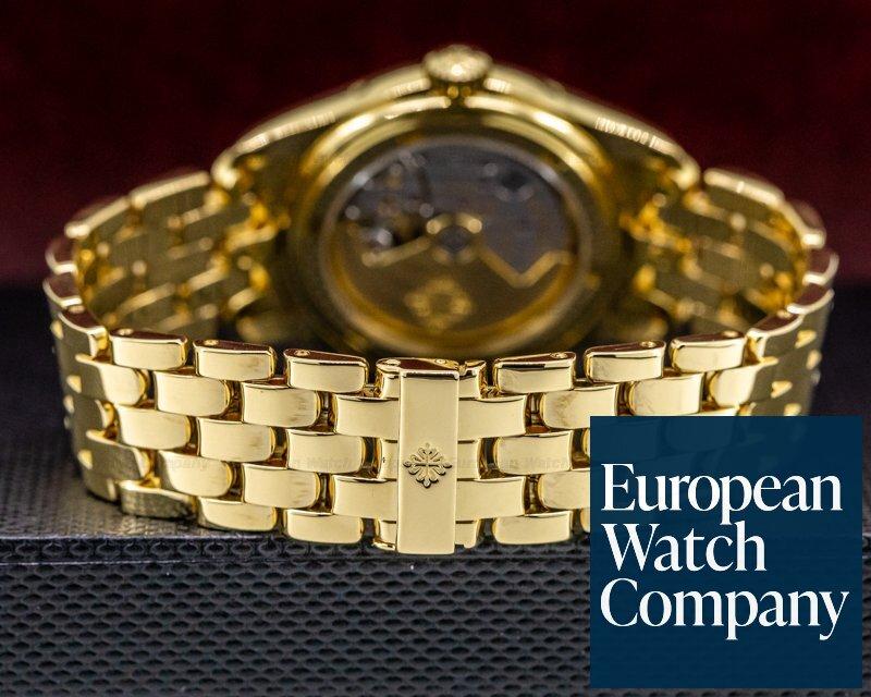 Patek Philippe 5036/1J-001 Annual Calendar 18K Yellow Gold / Bracelet FULL SET SERVICED