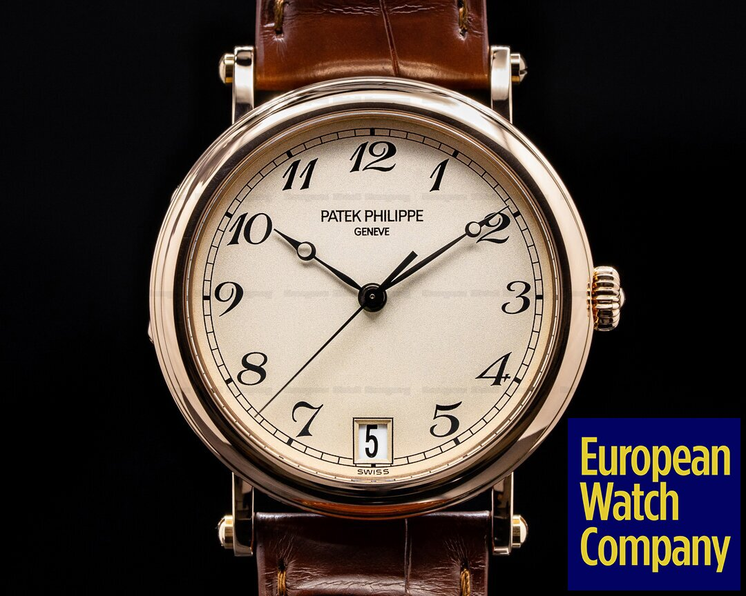 Patek Philippe Calatrava 5053 Officers Case 18K Rose Gold FULL SET Ref. 5053R-001