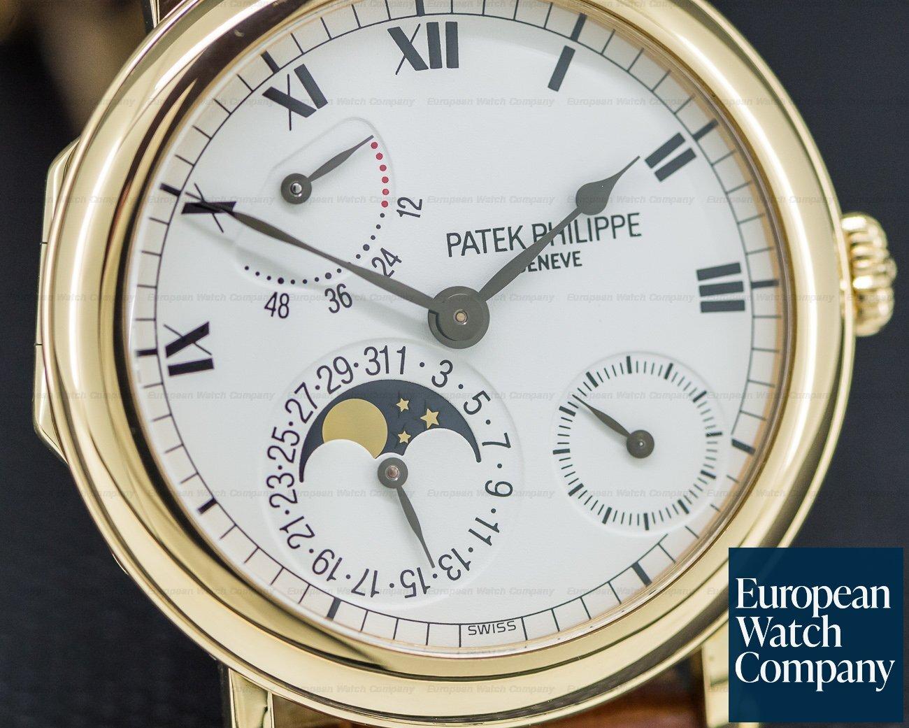 Patek Philippe 5054J-001 Power Reserve Moonphase 18K Yellow Gold
