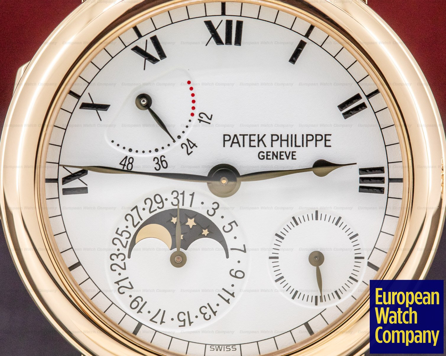 Patek Philippe 5054R-001 Power Reserve Moonphase 18K Rose Gold
