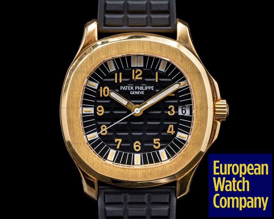 Patek Philippe Large Aquanaut 5065 18k / Rubber PATINA FULL SET WOW Ref. 5065J-001