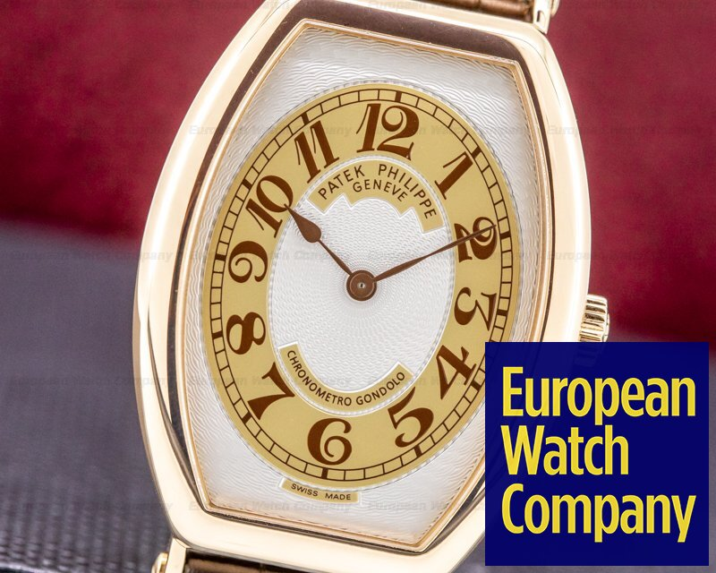 Patek Philippe 5098R-001 Chronometro Gondolo 5098R Rose Gold