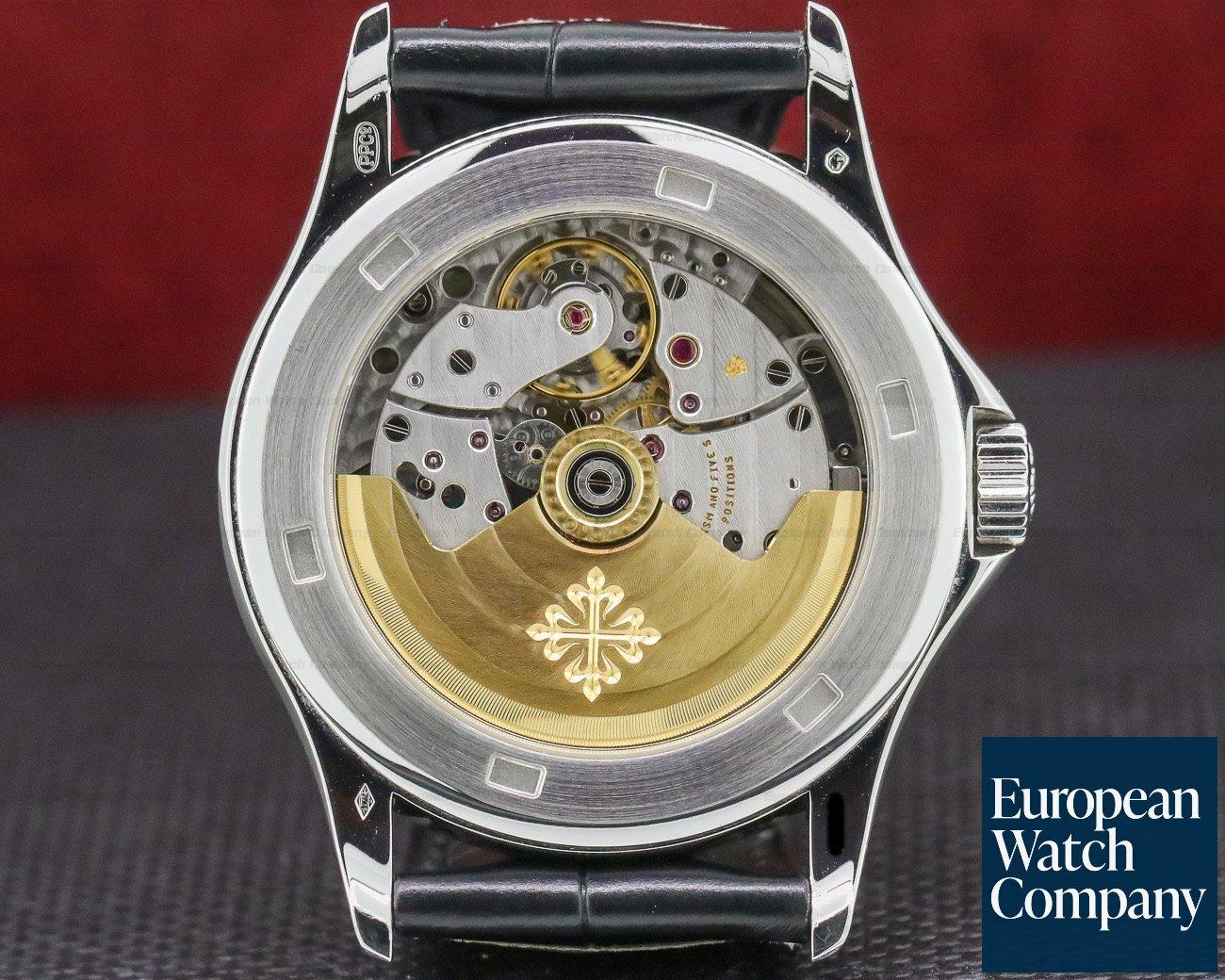 Patek Philippe 5107P-001 Calatrava Automatic Platinum Black Dial RARE