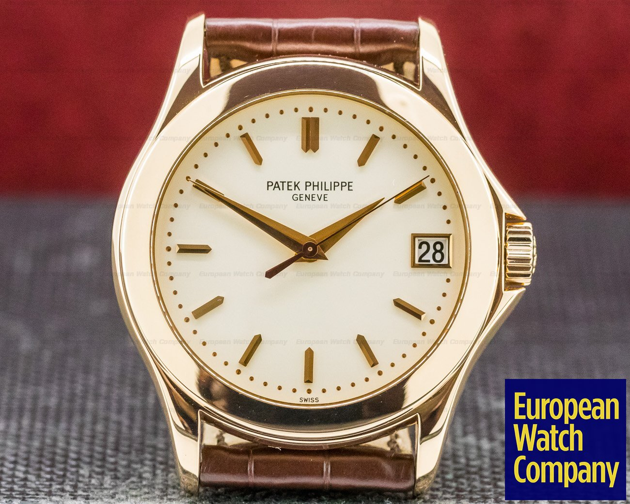 Patek Philippe 5107R Calatrava Atuomatic 18K Rose Gold