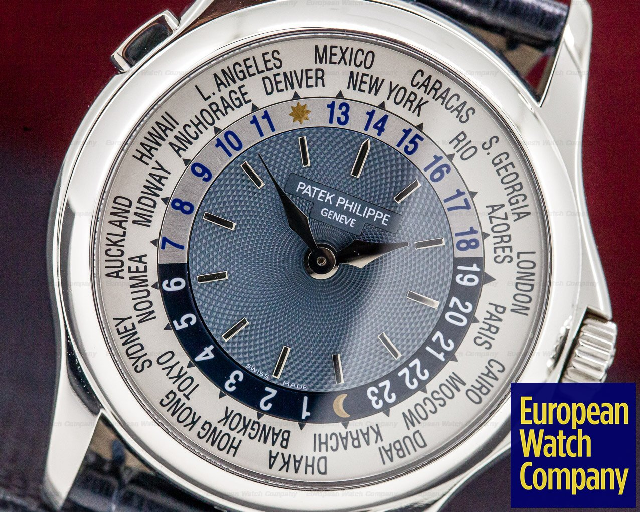 Patek Philippe 5110P-001 World Time Platinum