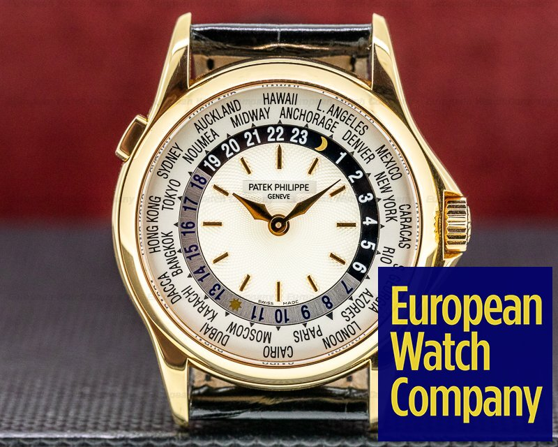 Patek Philippe 5110R-001 World Time 5110R 18K Rose Gold