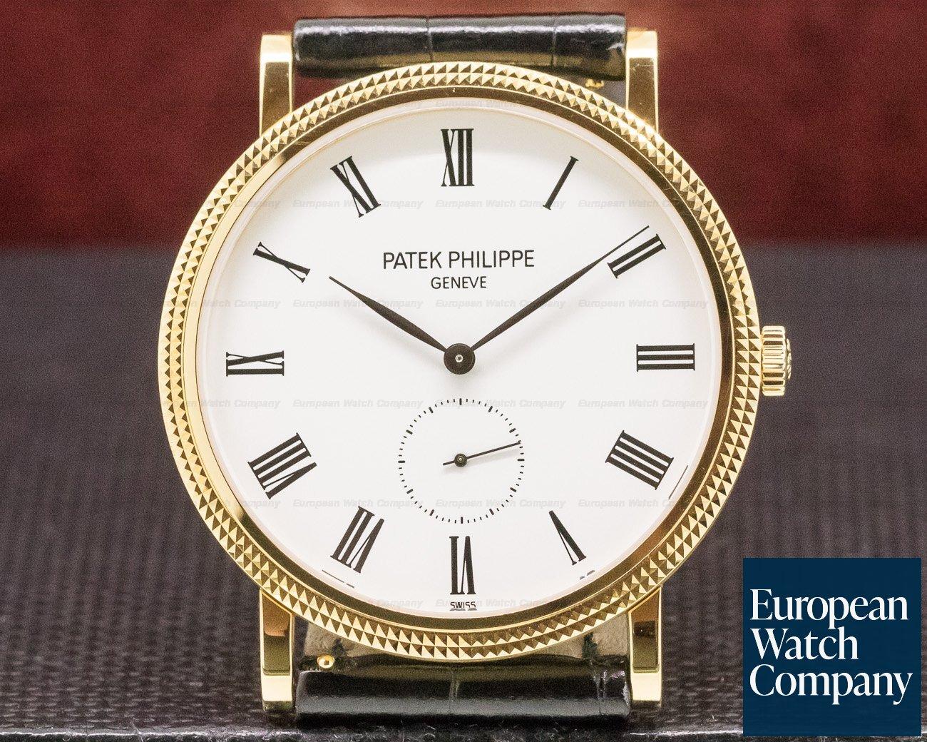 Patek Philippe 5119J-001 Calatrava 18K Yellow Gold