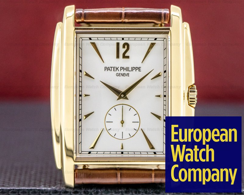 Patek Philippe 5124J-001 Gondolo 5124J 18K Yellow Gold Manual Wind