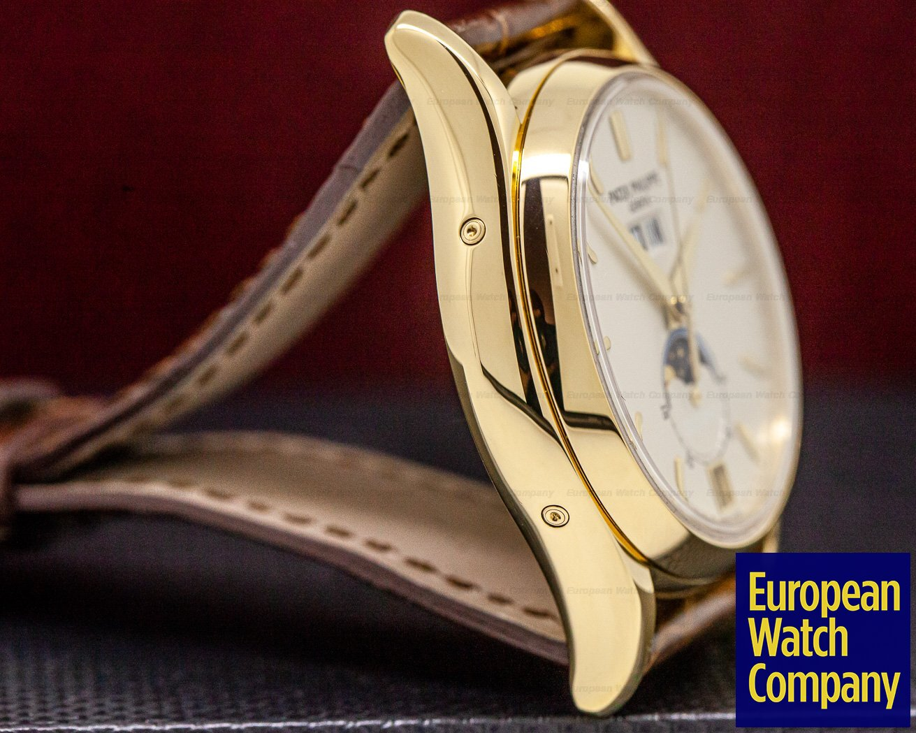 "Patek Philippe 5125J-010 Annual Calendar ""Wempe"" Limited Edition to 125 Pieces 18K Yellow Gold"
