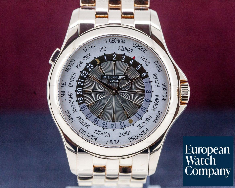 Patek Philippe 5130/1R-011 World Time 18K Rose Gold / 18K Rose Gold Bracelet
