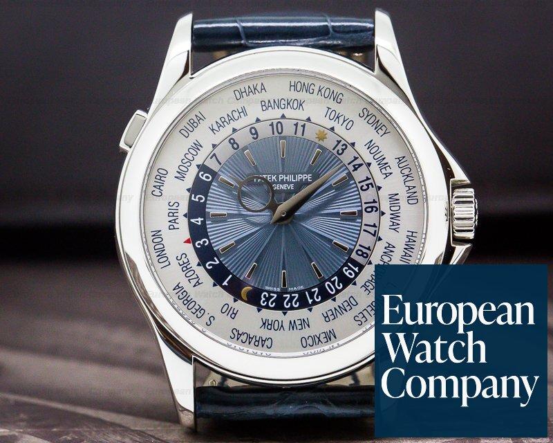 Patek Philippe 5130P-001 5130P World Time Platinum