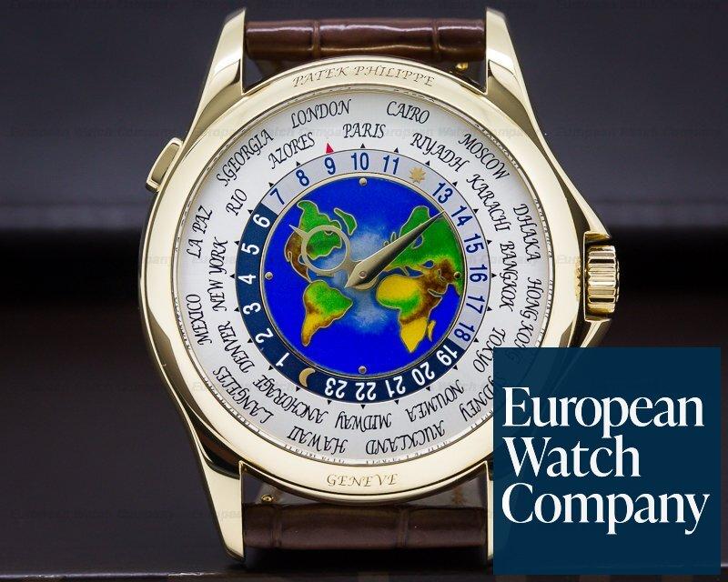 Patek Philippe 5131J-001 World Time Enamel Dial 18K Yellow Gold