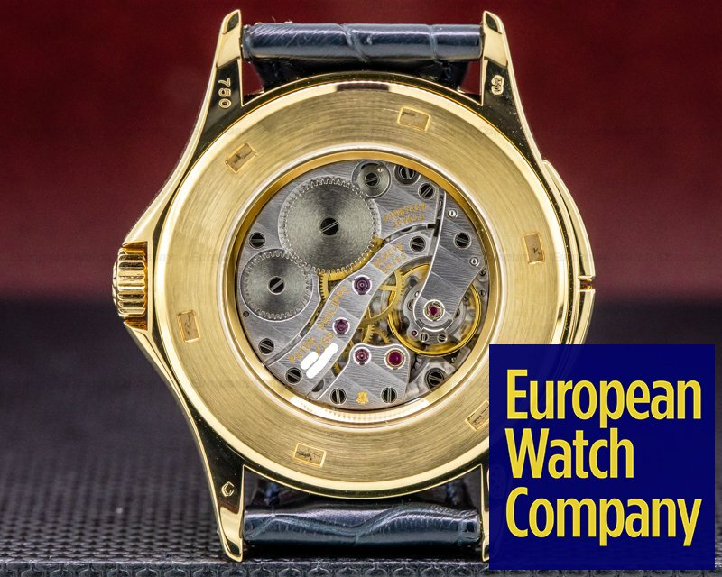 Patek Philippe 5134J-001 Travel Time 18K Yellow Gold Manual Wind Deployant