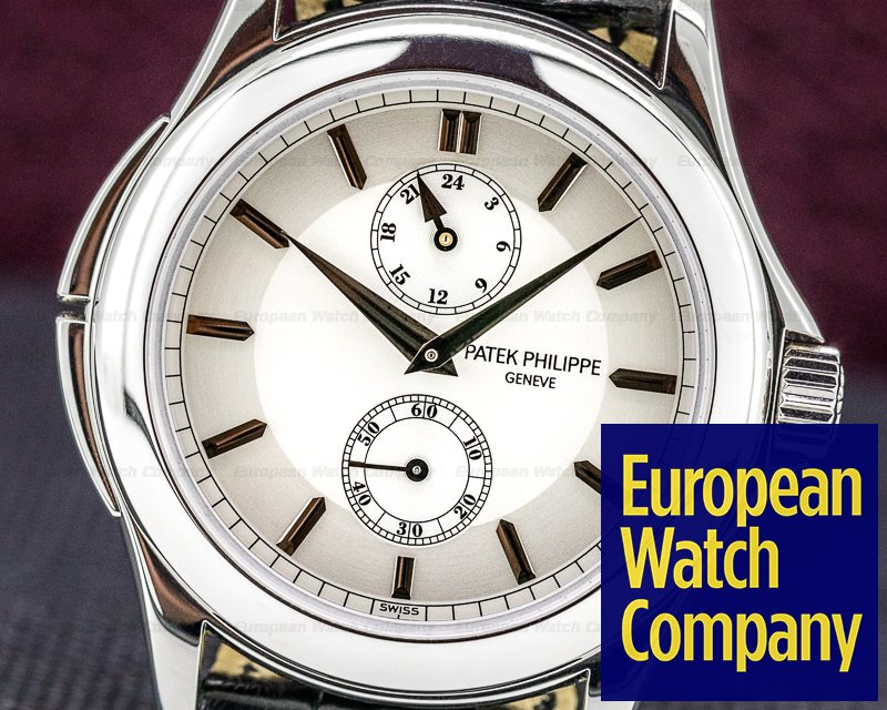 Patek Philippe 5134P-001 Travel Time Manual Silver Dial Platinum