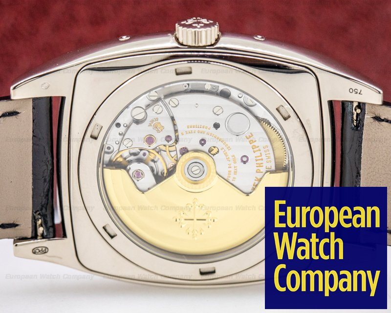 Patek Philippe 5135G-001 Gondolo Calendario 5135G 18K White Gold Grey Dial