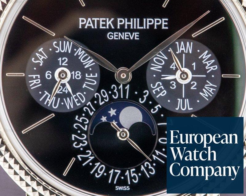 Patek Philippe 5139G-001 Perpetual Calendar 5139 Black Dial 18K White Gold