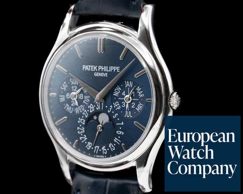 Patek Philippe 5140P-001 Perpetual Calendar Platinum Blue Dial 5140