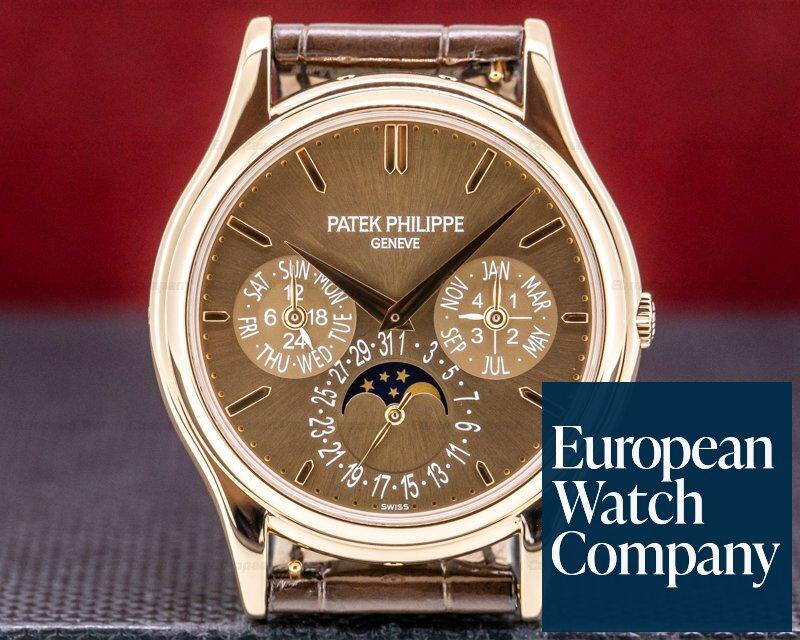 Patek Philippe 5140R-001 Perpetual Calendar 5140 Brown Dial 18K Rose Gold
