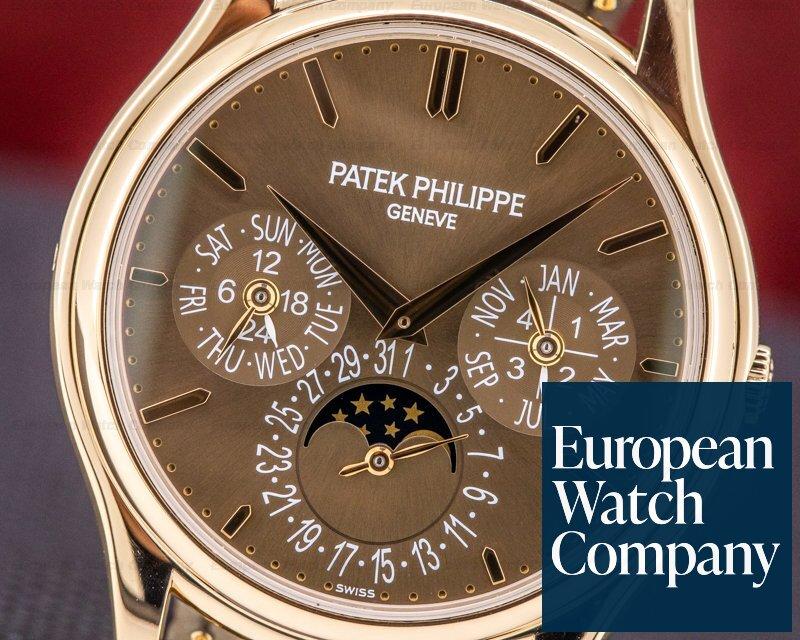 Patek Philippe 5140R-001 Perpetual Calendar 5140R Brown Dial 18K Rose Gold