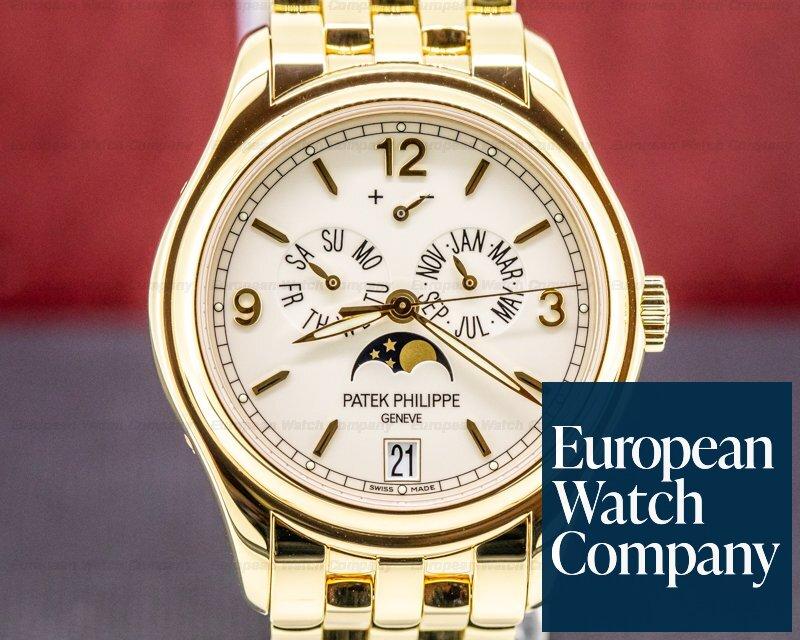 Patek Philippe 5146/1J-001 Annual Calendar 5146/1J Cream Dial 18K Yellow Gold / Bracelet