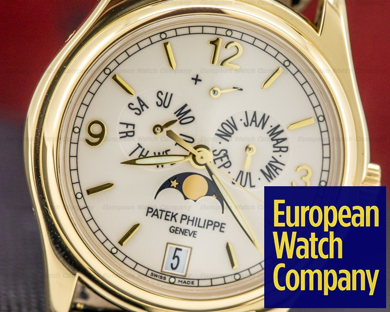 Patek Philippe 5146J-001 Annual Calendar 5146 Cream Dial 18K Yellow Gold
