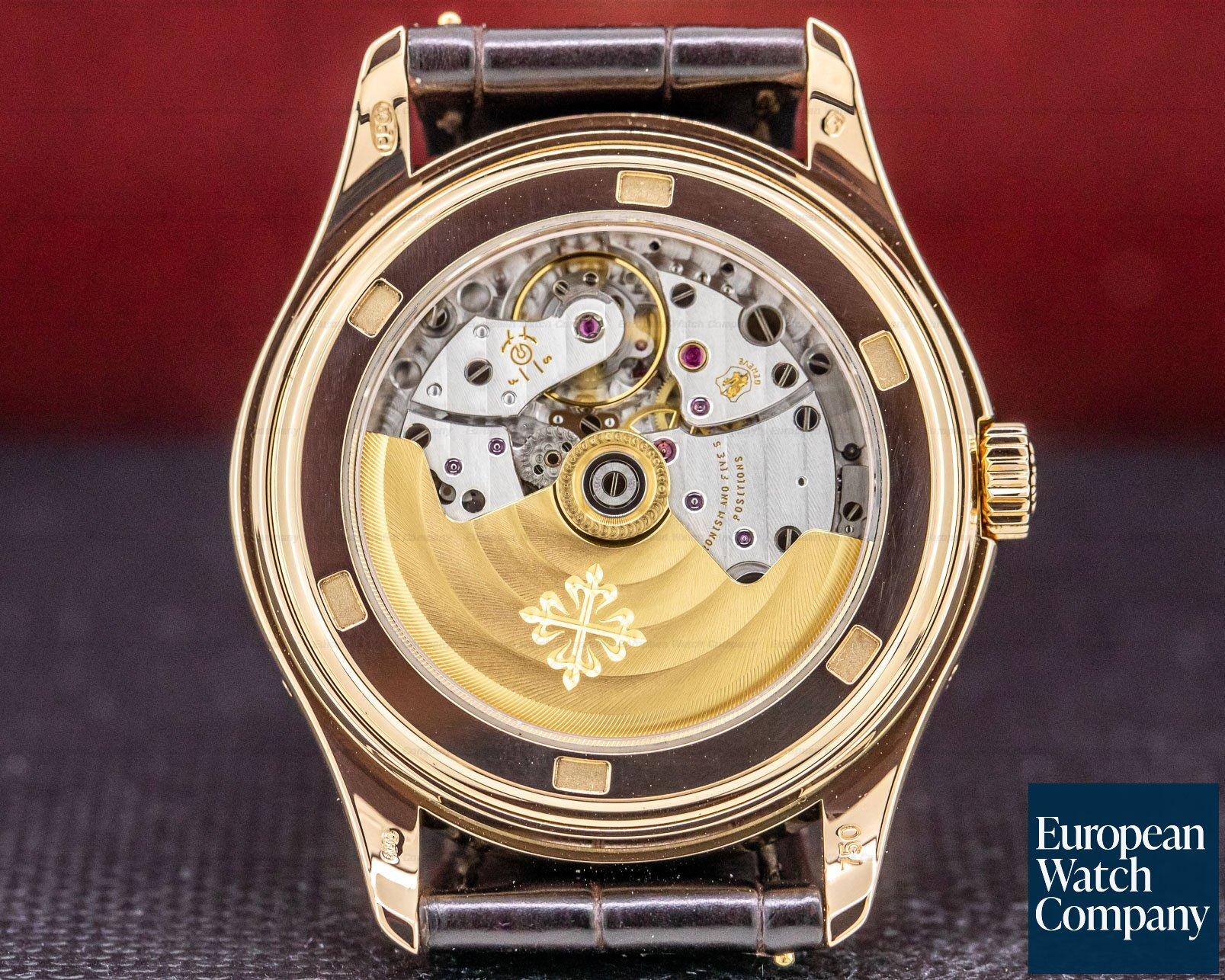 Patek Philippe 5146R Annual Calendar 18K Rose Gold Porcelain Dial 39MM