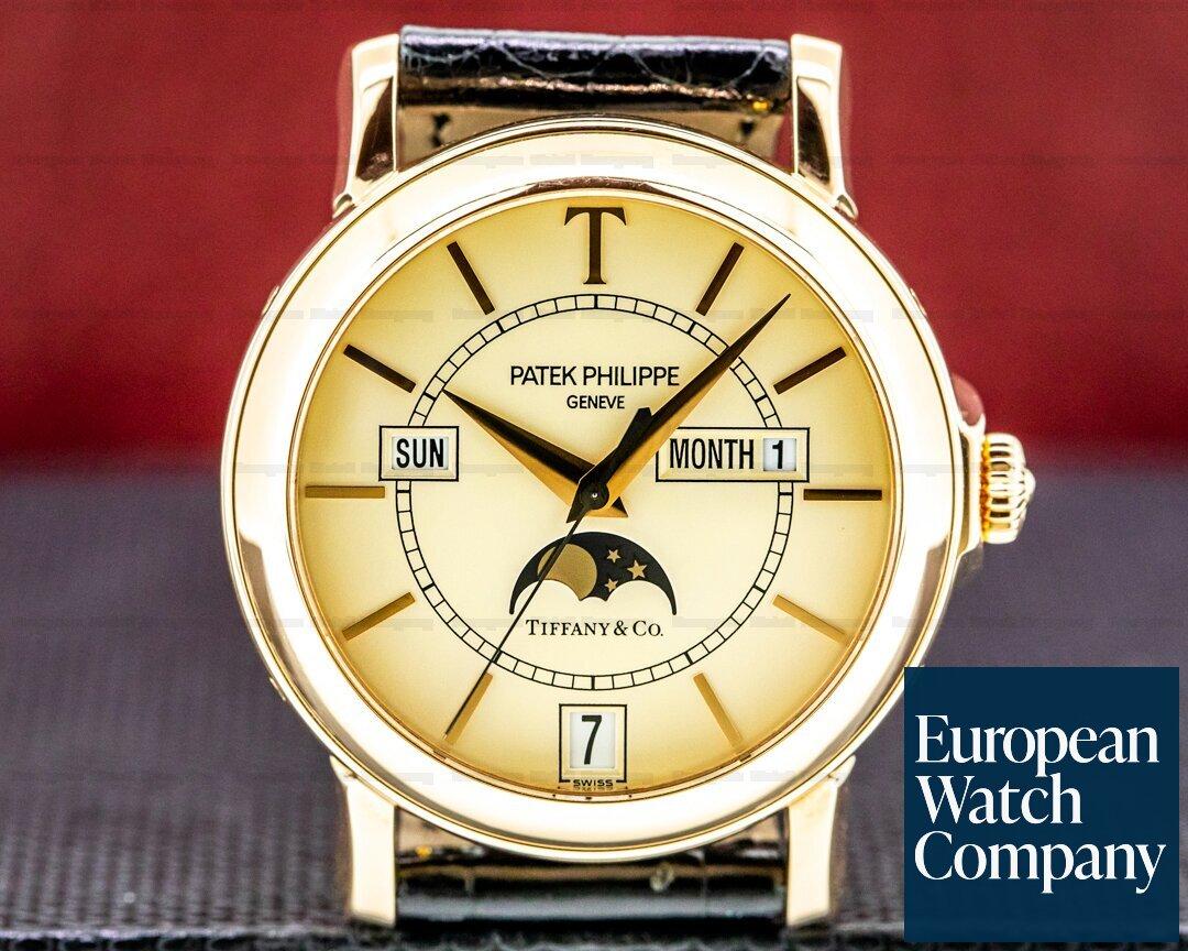 Patek Philippe Annual Calendar 5150R T 150 Tiffany Limited Edition 18K Rose Gold Ref. 5150R-T150