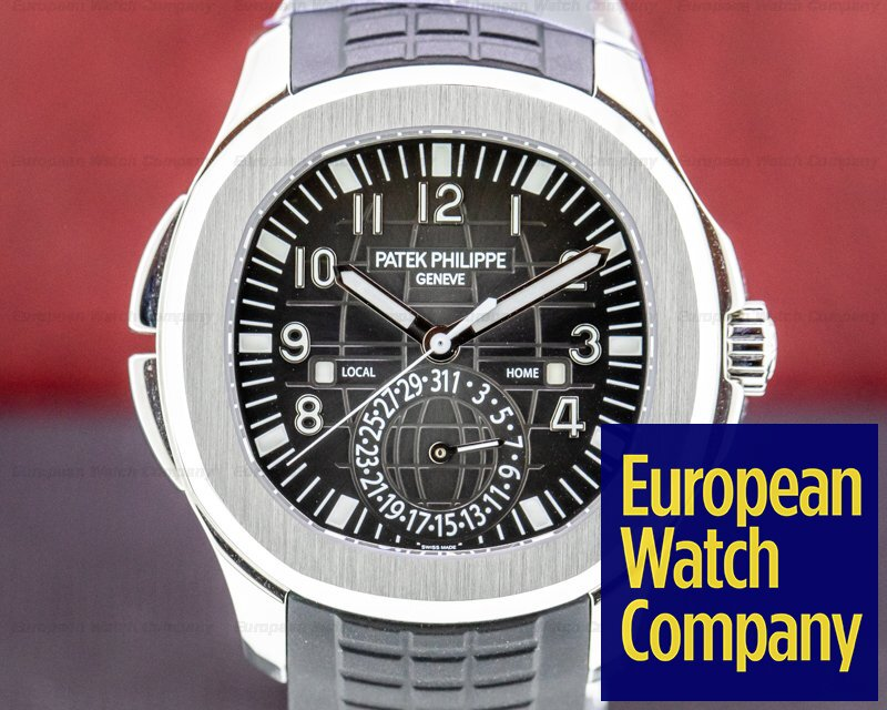 Patek Philippe 5164A-001 Aquanaut 5164 Travel Time SS / Rubber 2019
