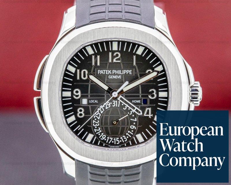 Patek Philippe 5164A-001 Aquanaut 5164 Travel Time SS / Rubber